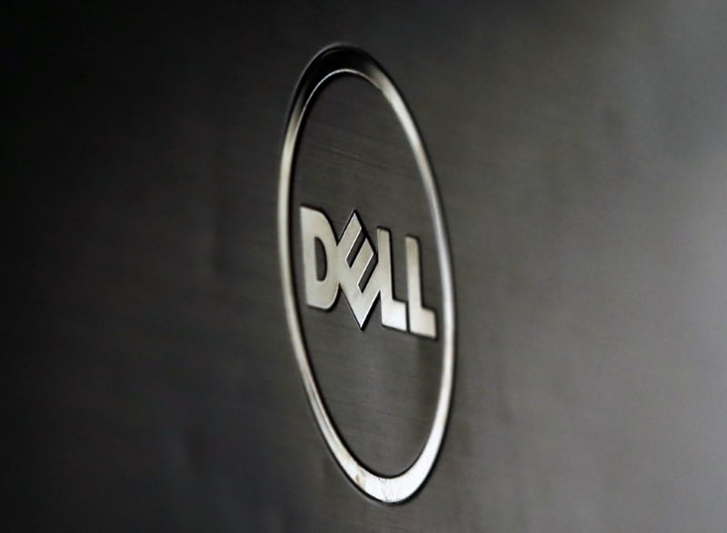 #10: Laptop maker Dell ranks tenth in the survey. It is an American MNC that is based in Round Rock, Texas and develops, sells, repairs, and supports computers and related products and services. (stock image)