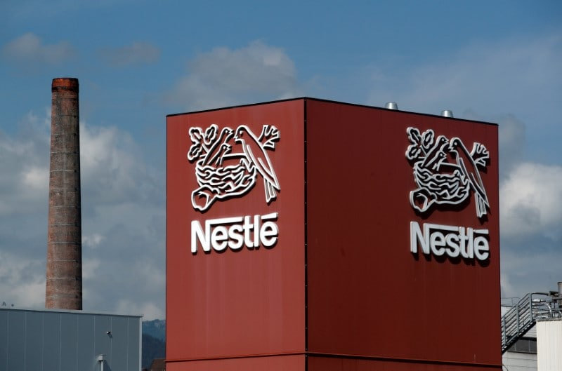 Nestle India: The FMCG major reported a 9.25 percent rise in profit to Rs 463.28 crore for the first quarter ended March 31, 2019. Nestle also announced plans to launch organic food products in the category 'milk products and nutrition' in the coming months. (Image: Reuters)