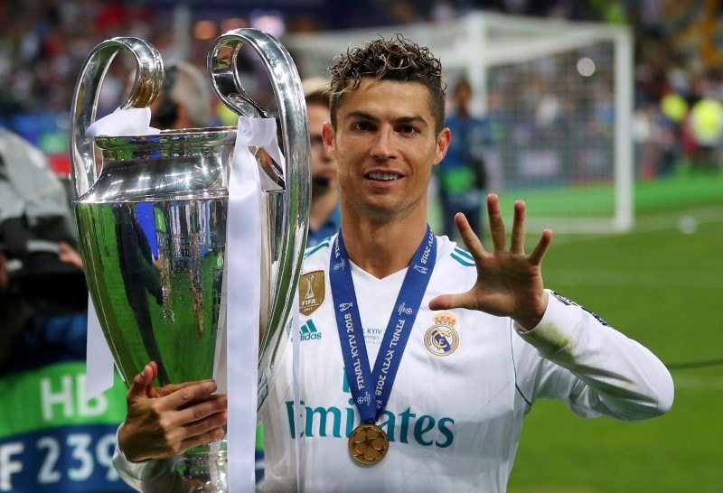 #6. Cristiano Ronaldo: Net Worth: $109 million: The five-time winner of FIFA's Player of the Year and an all-time leading goal scorer in the WEFA Champions League, Ronaldo joined Juventus in 2018 after nine years with Real Madrid. He took a pay cut with his four-year deal worth $64 million annually. Within 24 hours of release, Juventus sold 520,000 Ronaldo jerseys worth over $60 million. He is the most followed athlete on social media with about 400 total followers. (Image: AP)
