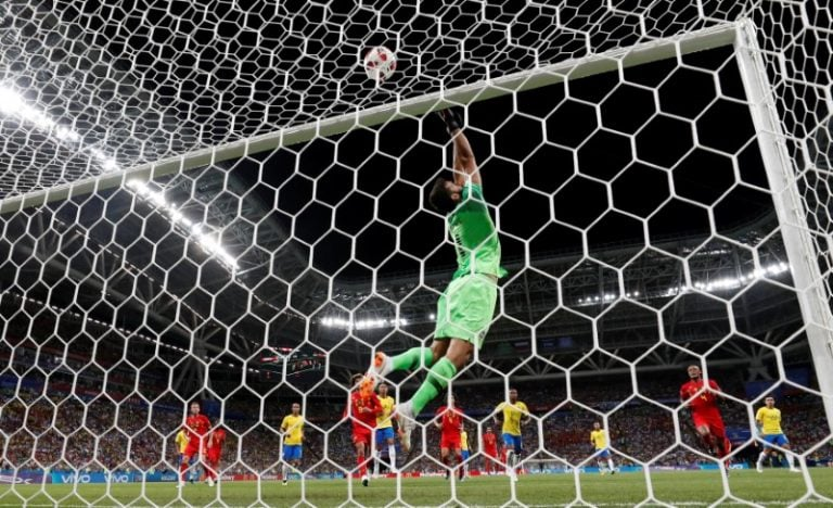 Belgium hold off Brazil in thriller to reach semis