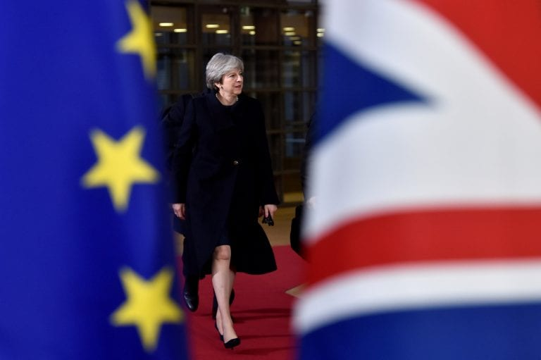 British lawmakers instruct UK PM Theresa May to change Brexit deal; EU says 'No'