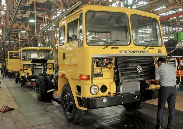 Ashok Leyland: Commercial vehicles major Ashok Leyland on Monday said it will suspend work at its various manufacturing facilities across the country this month in order to adjust production with market demand.