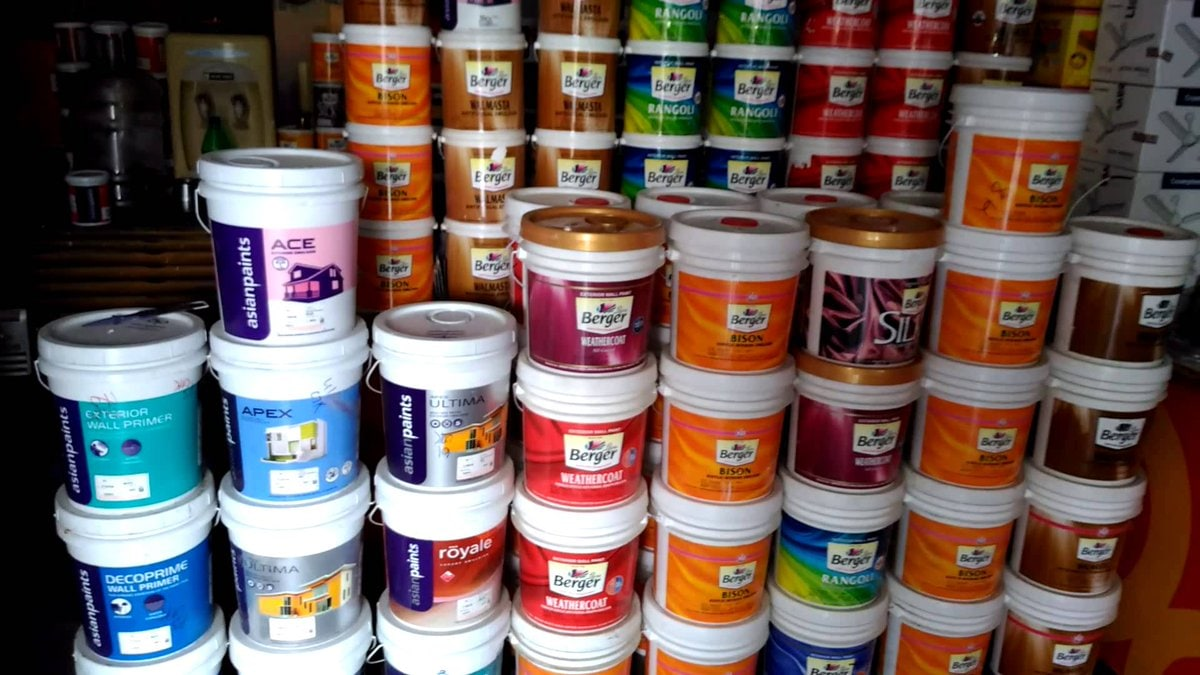 Asian Paints shares rose 0.44 percent to hit a 52-week high of Rs 1,622.50. (Image: Reuters)