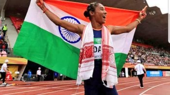 Hima Das' tears give the National Anthem a new meaning