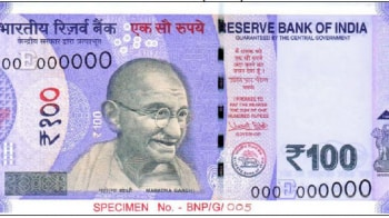 RBI to shortly issue new Rs 100 note in lavender colour