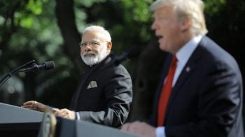 PM Modi gives tacit support for Trump's re-election in 2020, saying 'Abki Baar, Trump Sarkar'