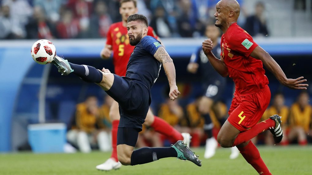 Never mind the goals, Giroud key to France's hopes of lifting the World Cup