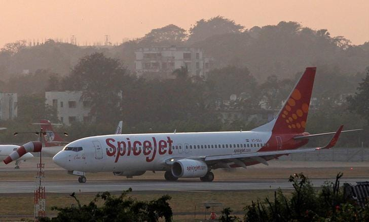 SpiceJet operates India's first TaxiBot at Delhi airport
