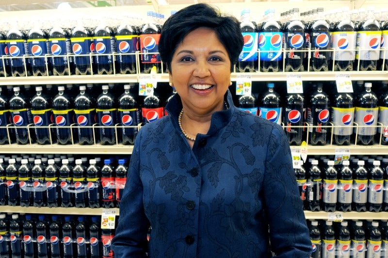 7. PepsiCo's ex-CEO Indra Nooyi also made to the list with a net worth of Rs 2,600 crore. Under Nooyi's 12-year tenure as CEO, she has boosted sales of the Mountain Dew and Gatorade maker to $63.5 billion, up 80 percent from when she started. She is also largely credited with re-shaping Pepsi with tactical mergers and shifting to healthier drinks over sugary sodas - moving to juices and teas.