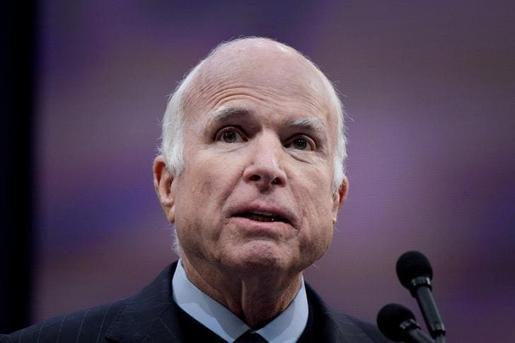 John McCain, ex-POW and 'maverick Republican', dies at 81