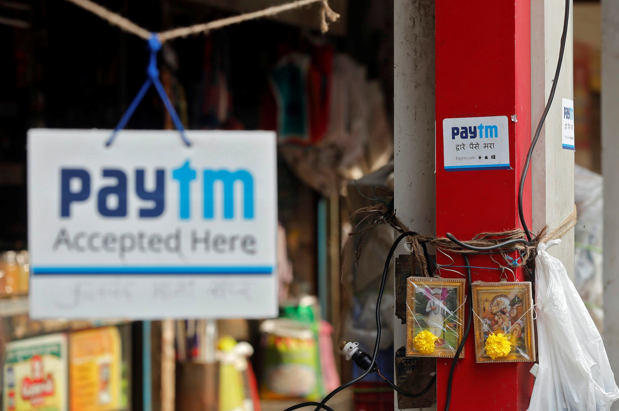 4. Paytm: One97 Communications-owned Paytm, has more than 300 million registered users. The company is among the top e-payment and e-commerce firms in India. (Image: Reuters)