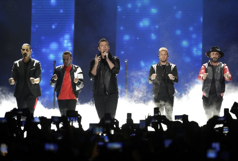 14 injured in Oklahoma after structure collapses at Backstreet Boys concert venue