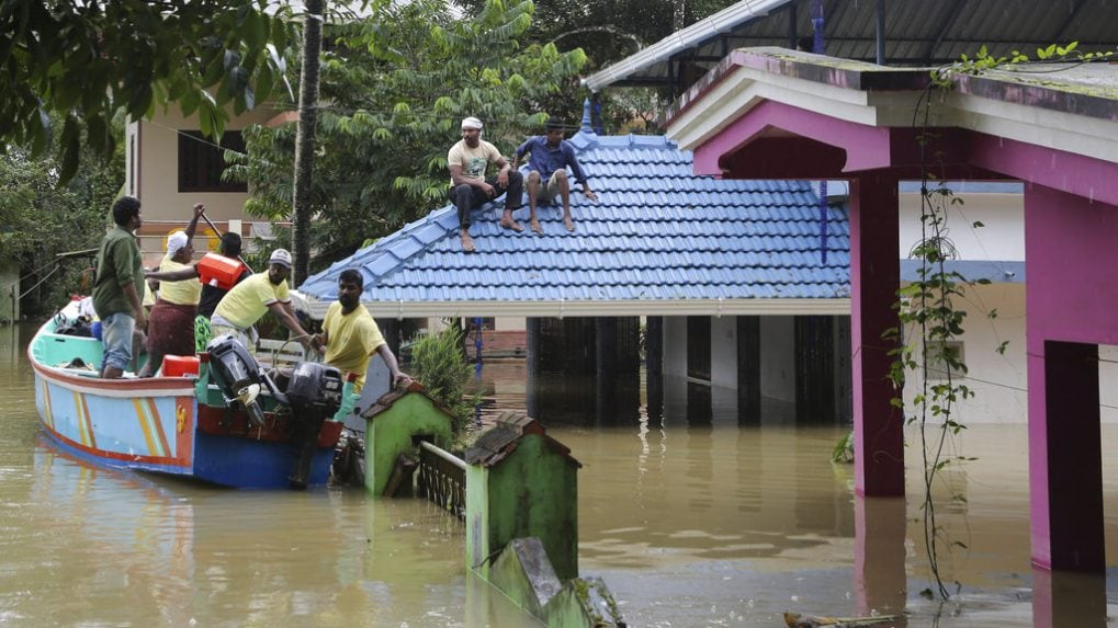 Surviving Kerala floods: 'Water had reached as high as electric line confirming we were in the middle of a flood of a lifetime'