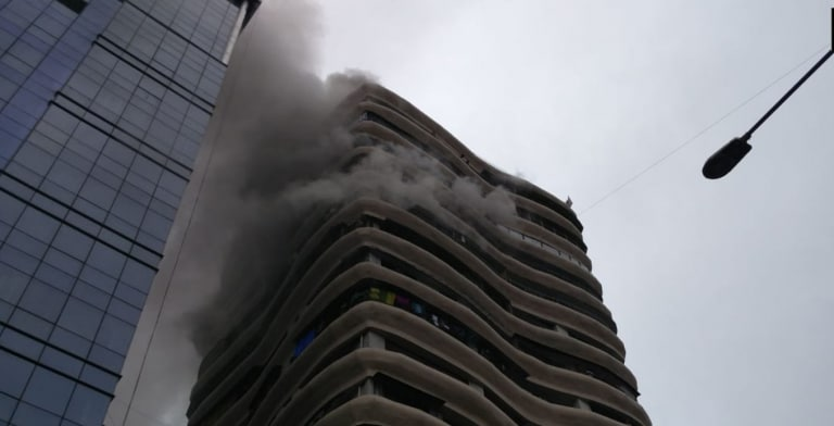 Fire in residential building in Mumbai; no casualty