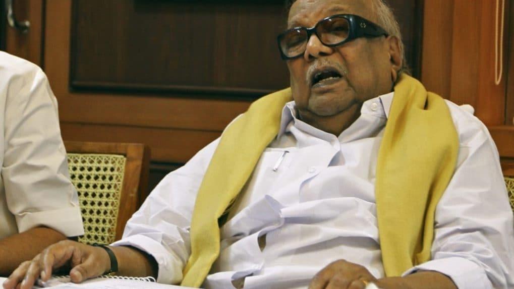 M. Karunanidhi, former Tamil Nadu Chief Minister, dead at 94