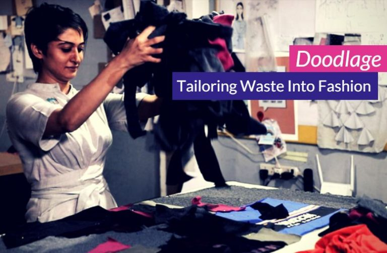 Doodlage: Turning industrial wastes into fashion