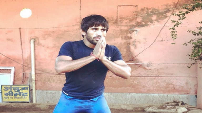 Wrestler Bajrang Punia wins India's first gold in 18th Asian Games
