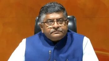 Right to privacy not for those who abuse internet platform, says Ravi Shankar Prasad