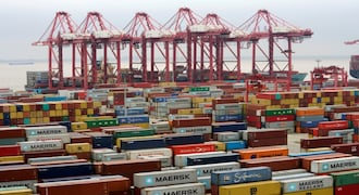 China's August exports rise 9.8 percent, imports up 20 percent