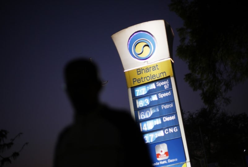 State-run Bharat Petroleum Corporation Ltd (BPCL) will raise around $500 million in the international bond market, Mint reported citing sources. (Picture credits: Reuters).