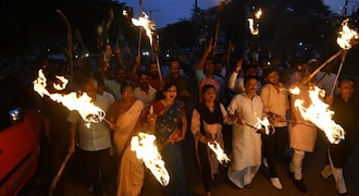 Opposition joins hands with Congress over Bharat Bandh