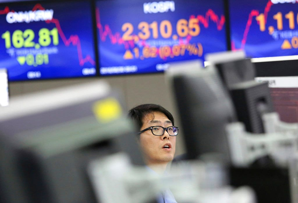Asia: Asian stocks gained a tad on Wednesday after US-China trade talks resumed while investors awaited minutes from the US Federal Reserve for clues on policymakers' thinking on interest rates and its balance sheet reduction policy, reported Reuters. MSCI's broadest index of Asia-Pacific shares outside Japan rose 0.2 percent in early trade. Japan's Nikkei gained 0.4 percent. (Image: AP)