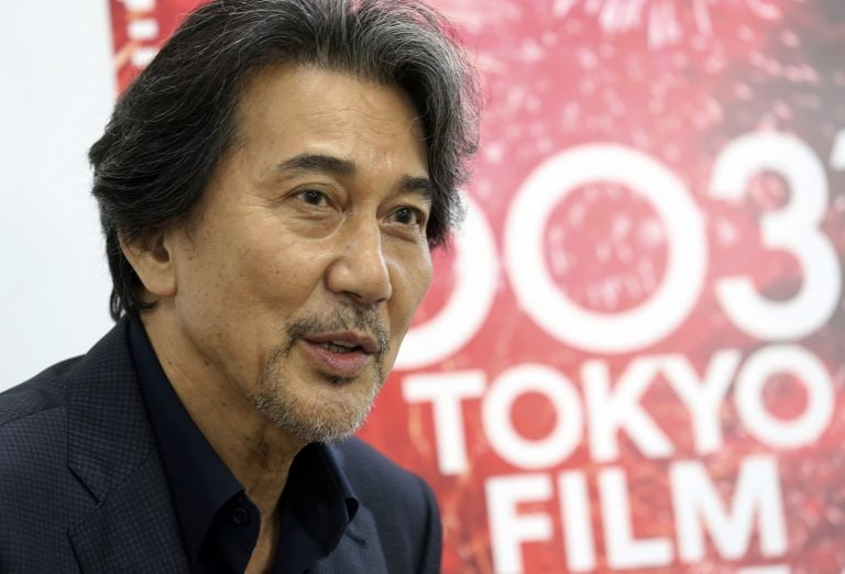 Japanese actor Koji Yakusho says his is a solitary craft