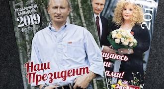 Calendar featuring Vladimir Putin met with mixed reaction in Russia
