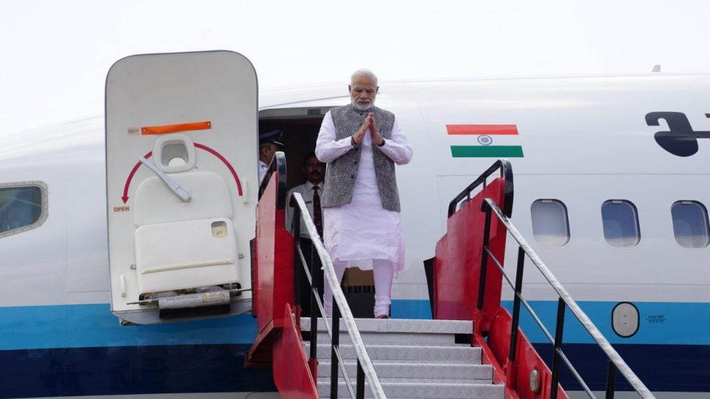 PM Narendra Modi arrives in Singapore for East Asia Summit