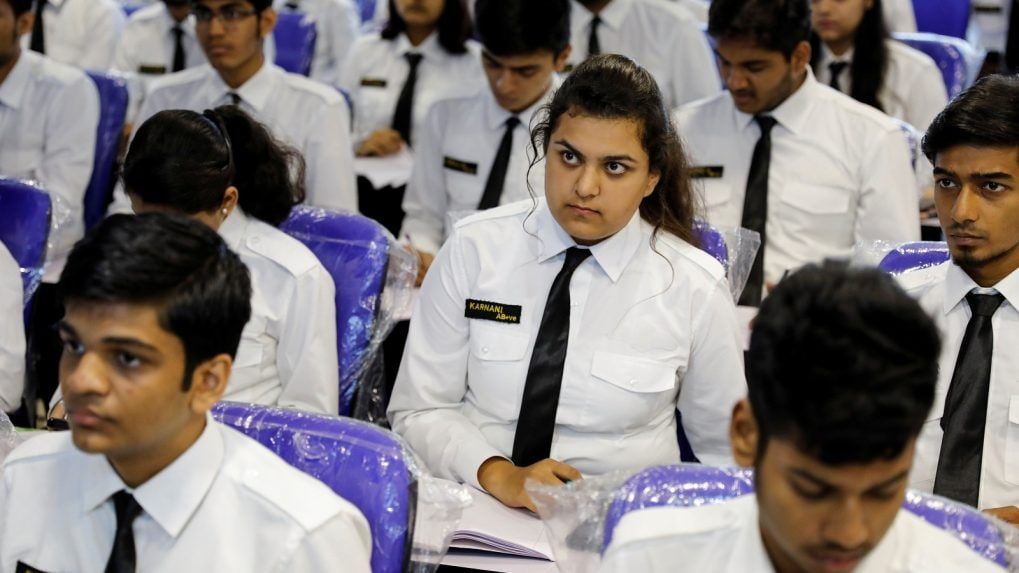 India has the highest proportion of female pilots in the world