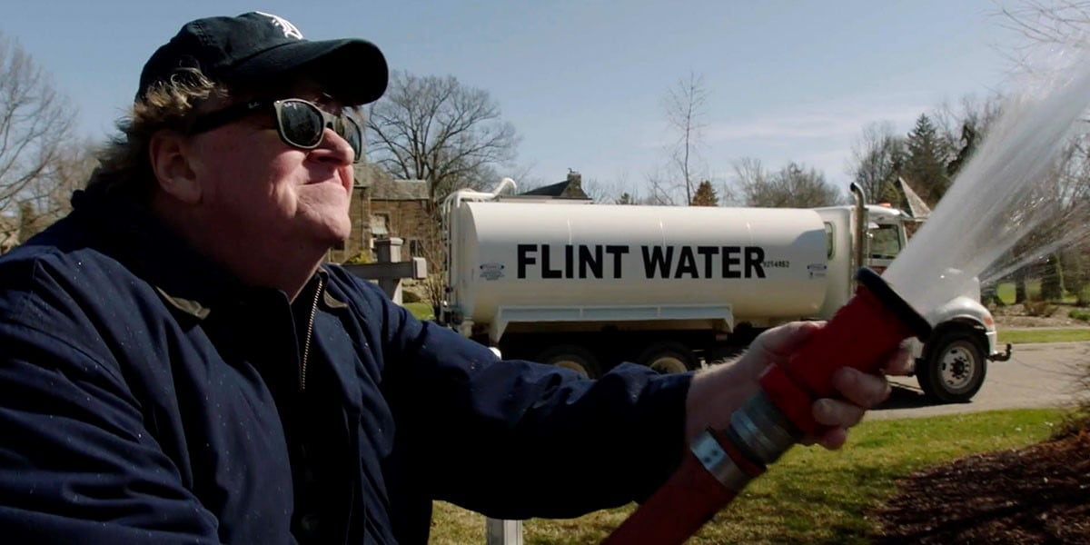Michael Moore's new documentary, Fahrenheit 11/9, is about Donald Trump's election and American democracy