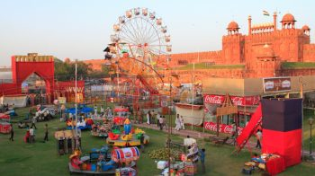 How old Delhi likes to celebrate the legends of Ramayana