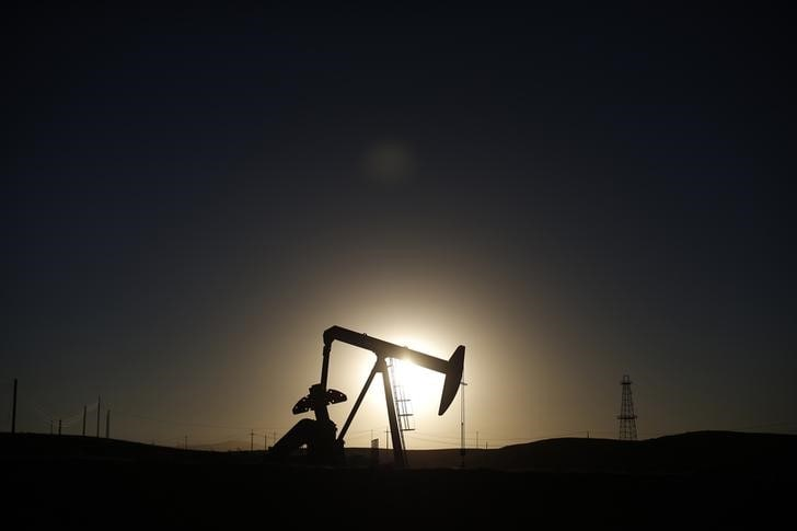 4. US West Texas Intermediate (WTI) crude futures were at $52.07 per barrel, up 8 cents from their last settlement. International Brent crude oil futures had yet to trade, after closing down 2.8 percent in the previous session when prices hit a low of $59.49 a barrel - the lowest since January 15. (Image Source: Reuters/Caption Credits: Reuters)