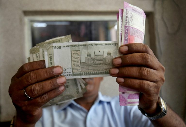 Rupee opens little changed at 68.42 a dollar, bond yields rise