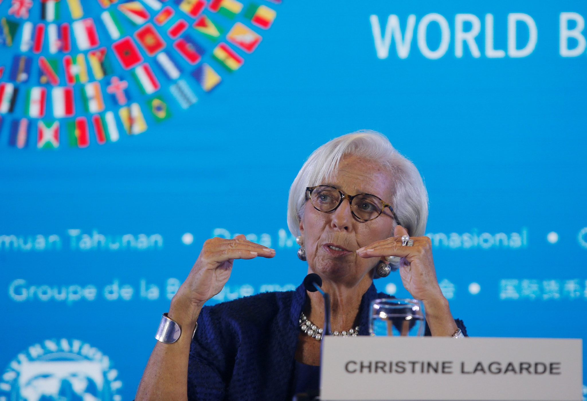 10. IMF Chief Christine Lagarde On US-China Tensions: The head of the International Monetary Fund said Tuesday that fresh trade tensions between the United States and China were the main threat to the world economy.