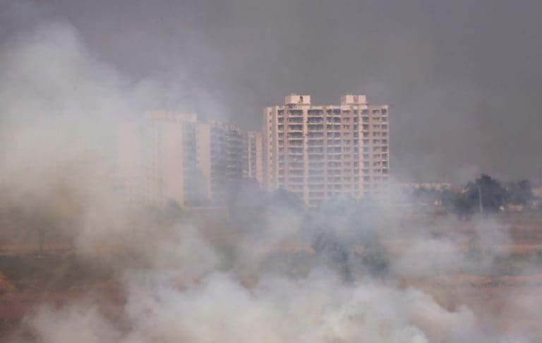The burning truth - as farmers set fire to fields, Delhi braces for choking smog