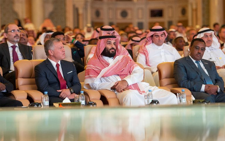Saudi crown prince says justice will prevail in