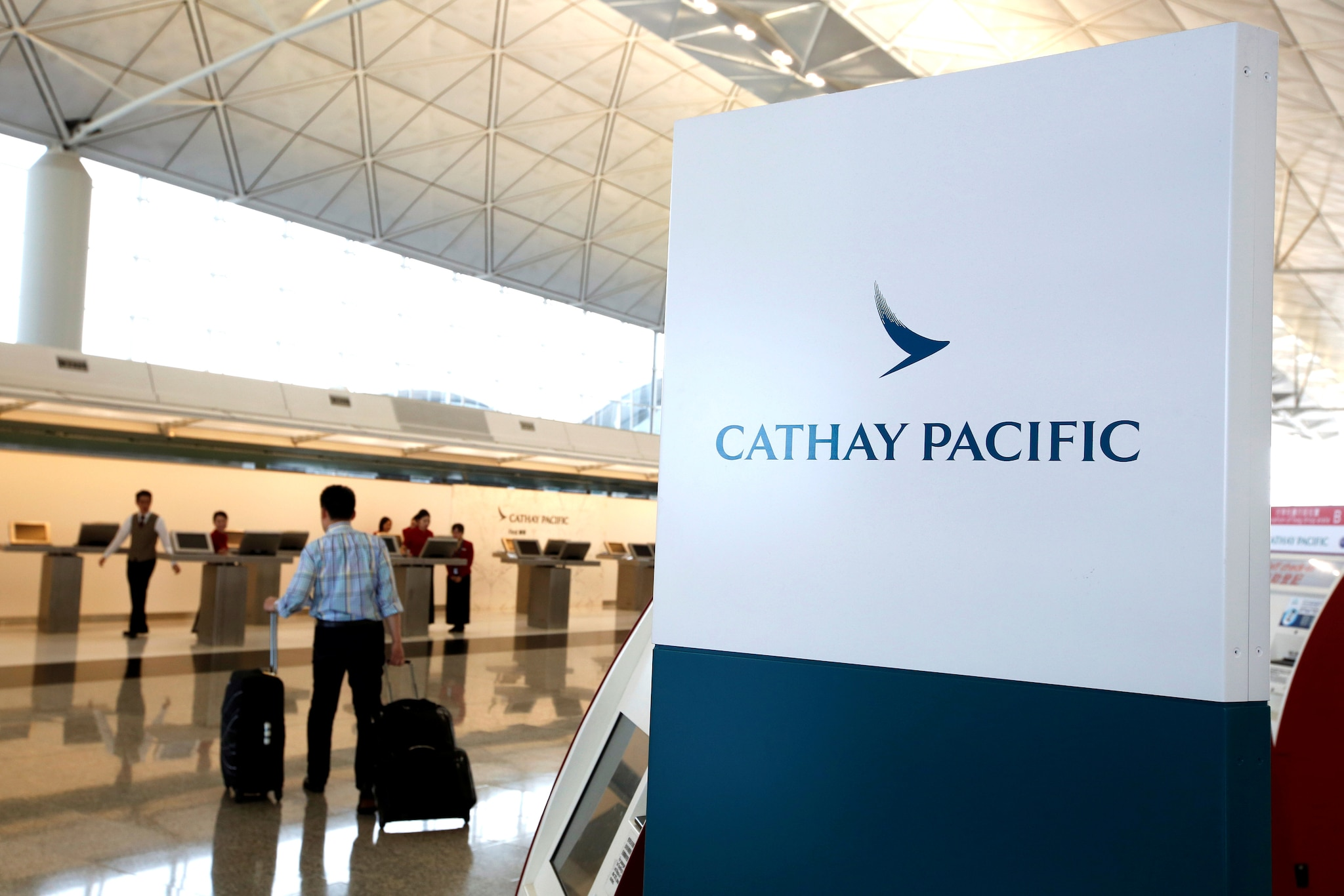 <strong>#4. Cathay Pacific:</strong> The airline runs subsidiaries Cathay Dragon, Asia Miles, Air Hong Kong, among others. Cathay Pacific operates in 77 destinations across the globe. (Reuters)