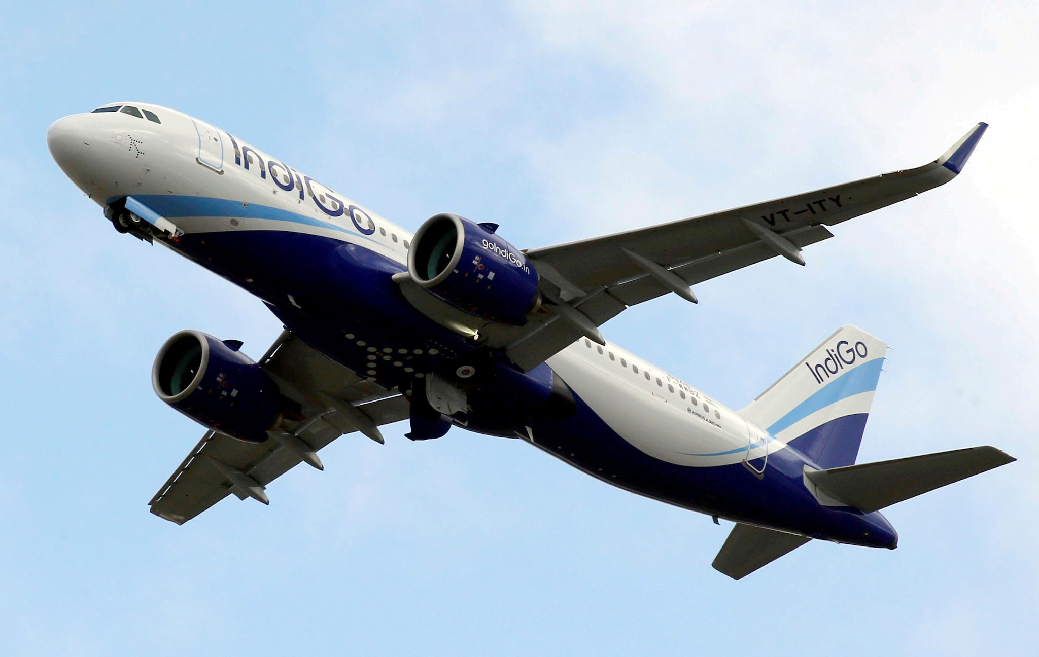 Interglobe Aviation's shares gained 4.44 percent to touch a 52-week high of Rs 1,737.95 on the NSE. (Image: Reuters)