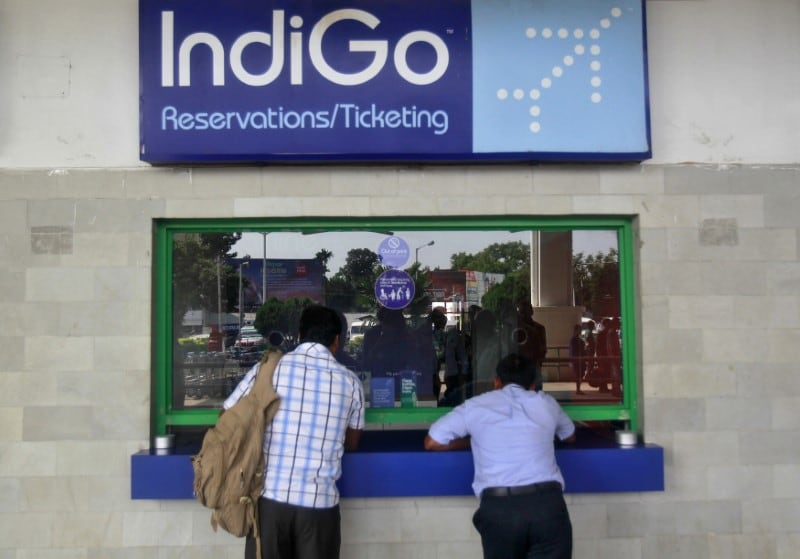 InterGlobe Aviation: The owner of IndiGo airlines posted a net profit of Rs 589.6 crore for the fourth quarter ended March 31 as against a profit of Rs 117.6 crore in the same period FY18. The airline said its revenues for the given quarter went up by 35.9 percent, at Rs 7,883.3 crore. (Image: Reuters)