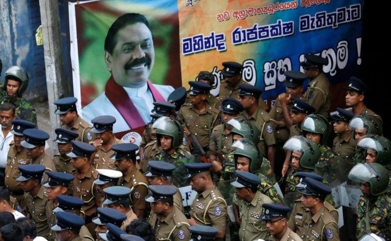 Sri Lanka's president faces calls to end political crisis