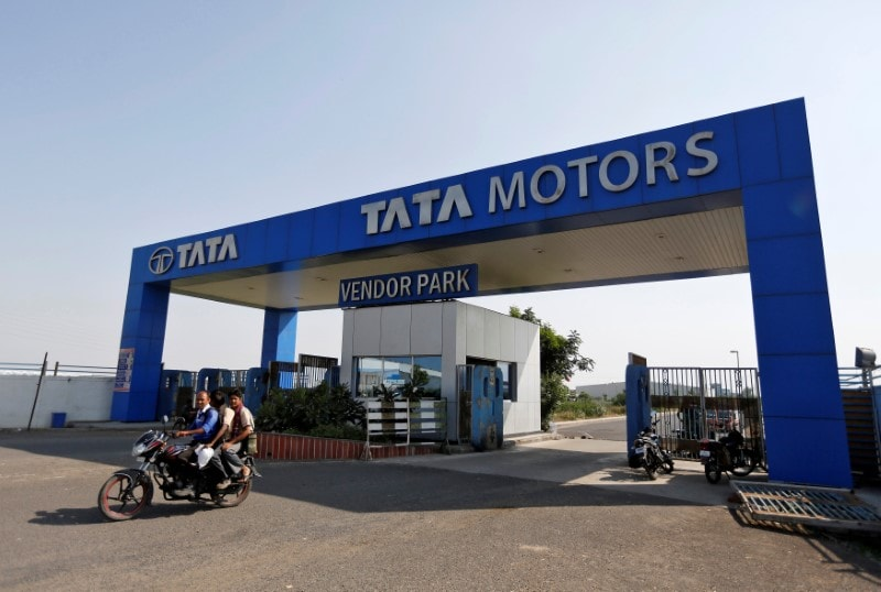 Tata Motors: The largest commercial vehicle maker has lowered production at its Pantnagar (Uttarakhand) facility to 15,000 units of smml pick-up trucks this month from 18,000 units last month amid sputtering sales. (Image: Reuters)
