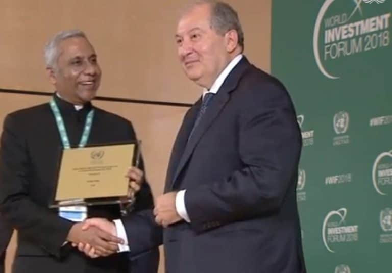 Invest India wins top UN award for promoting renewable energy investment