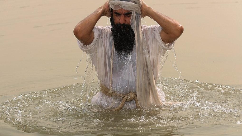 Water pollution in Iraq threatens worshippers of ancient Mandaean faith