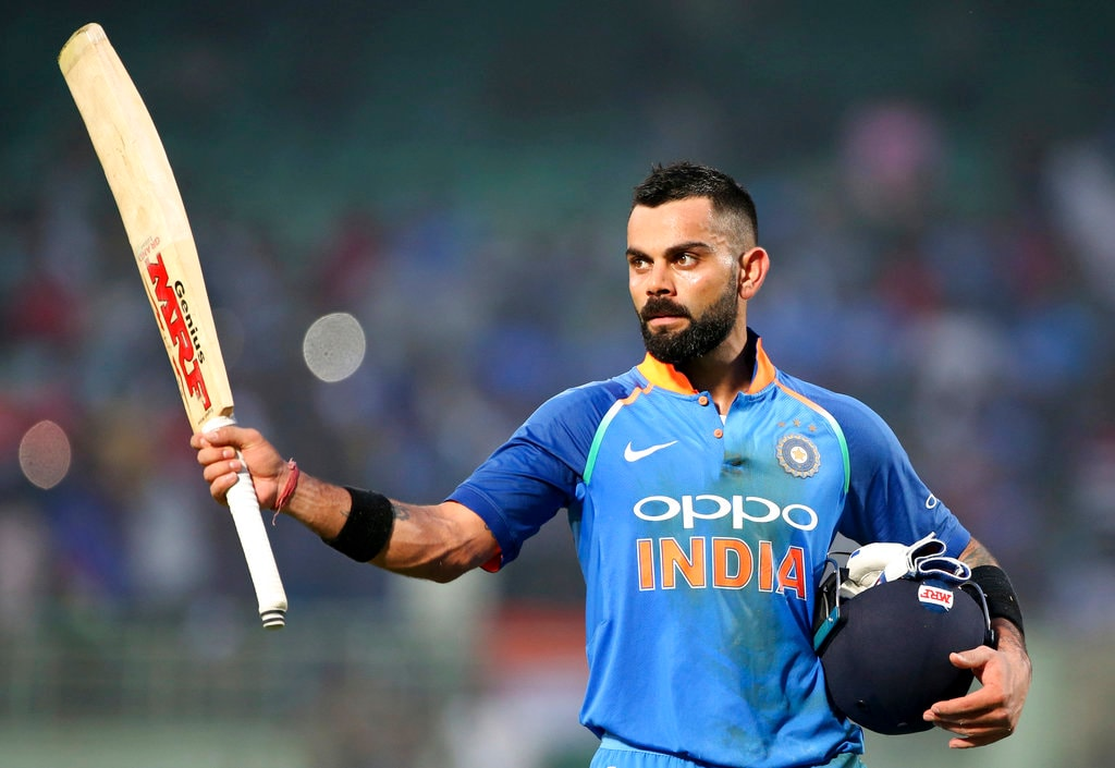 #8. Virat Kohli, Captain of the Indian cricket team. Admiration Score: 4.46 percent. (Image: AP)