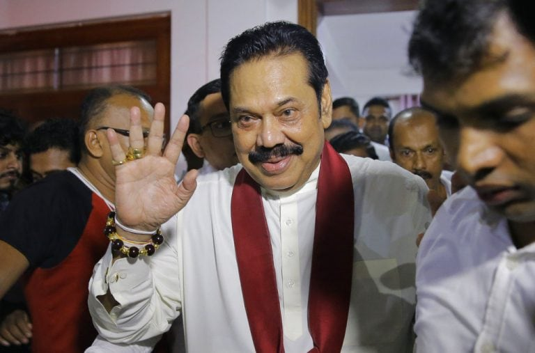 Sri Lanka parliament passes motion to cut PM's budget