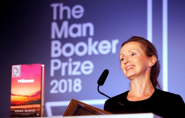 Northern Irish writer Anna Burns wins 2018 Booker Prize for 'Milkman'