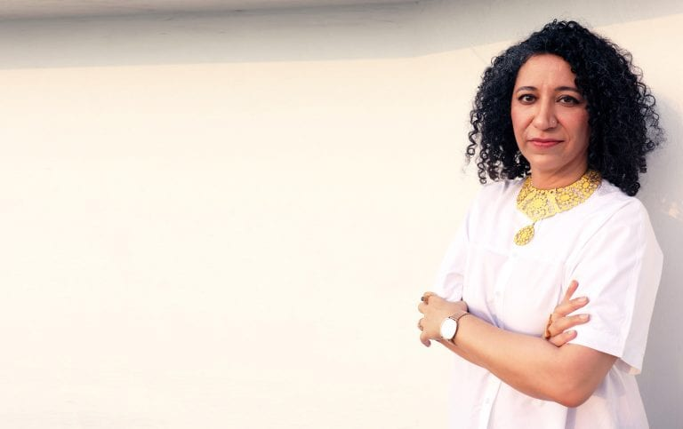 """This award-winning designer makes jewellery with a message for women: """"Be fierce, be fearless"""""""