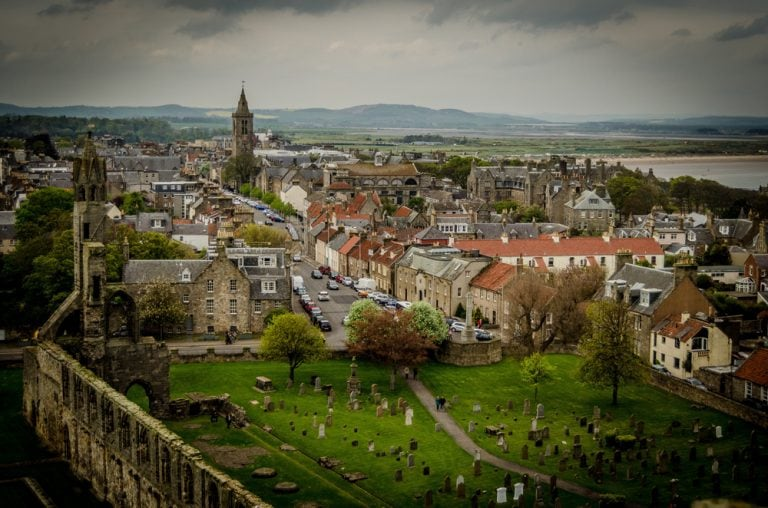 Leaving my daughter and heart behind at St Andrews: A small town with a big history