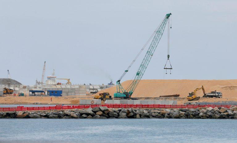 Sri Lanka signs port deals with China amid political upheaval
